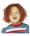 Halloween chucky hoofd masker
