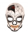 Halloween day of the dead masker man