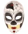 Halloween day of the dead masker vrouw