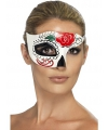 Halloween day of the dead oogmasker