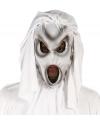 Halloween grijs spook masker