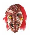 Halloween horror gele ogen masker