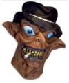 Halloween horror masker monster met sigaret