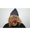 Halloween horror thema maskers muis etende griezel