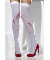 Halloween kniekousen met bloedvlekken