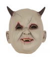 Halloween latex horror masker baby duivel