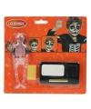 Halloween schmink set skelet