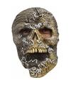 Halloween skelet masker met wormen