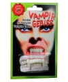 Halloween vampier gebitje boven en onder tanden