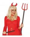 Halloween verstelbare duivelsvork 110 cm