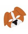 Honden oogmasker van foam