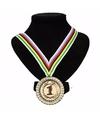 Kampioensmedaille nr 1 aan wereldkampioen lint