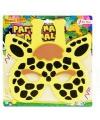 Kinder foam masker giraf