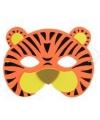 Kinder foam masker tijger