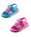 Kinder water sandalen met vlinder