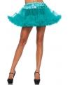 Korte groene petticoat voor dames