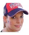 Landen vlag tattoo amerika