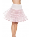 Lange licht roze petticoat voor dames