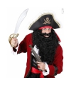 Lange zwarte piraten baard