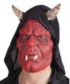 Latex duivel masker diablo voor volwassenen