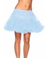 Leg avenue luxe petticoat lichtblauw