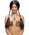 Luxe indianen pruik voor dames
