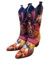 Luxe rubberen cowboy laarzen floral