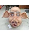 Luxe rubberen varkenskop masker