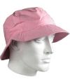 Luxe vissershoedje roze