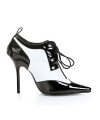 Maffia pumps met veters
