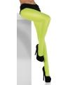 Neon groene panty 40 denier