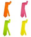 Neon kleur stropdas