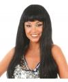 Nicki pruik zwart lang