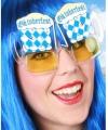 Oktoberfest bril bierglazen