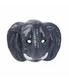 Olifanten masker 3d plastic 22cm