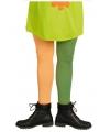 Oranje en groene kous