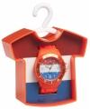Oranje holland horloge van pvc