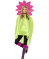 Party regenponcho bloem