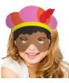 Pieten masker voor meisjes
