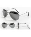 Pilotenbril met gespiegelde glazen