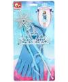 Prinses verkleedset blauw