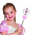 Prinsessen toverstaf roze 32 cm