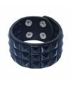 Punk armband zwart