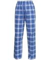 Pyjamabroek blauw zilver