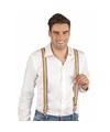 Regenboog bretels voor volwassenen