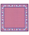Rode boeren zakdoek 59 x 59 cm
