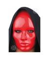 Rood gezichtsmasker
