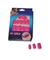 Roze neon nepnagels
