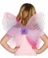 Roze vlinder vleugels voor kinderen