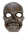 Schedel masker transparant